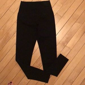 NWT slimming high waist Black leggings THICK